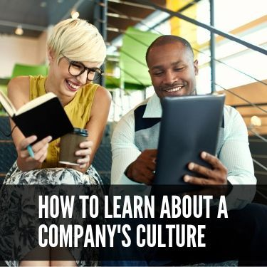 How to Learn About a Company's culture