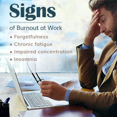 Signs of Burnout at Work Forgetfulness