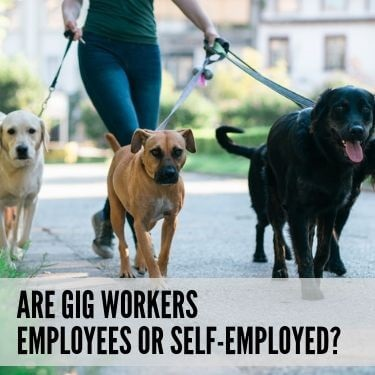 Are Gig Workers Employees or Self Employed
