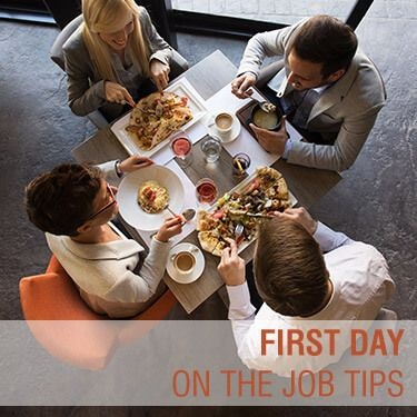 first day on the job tips